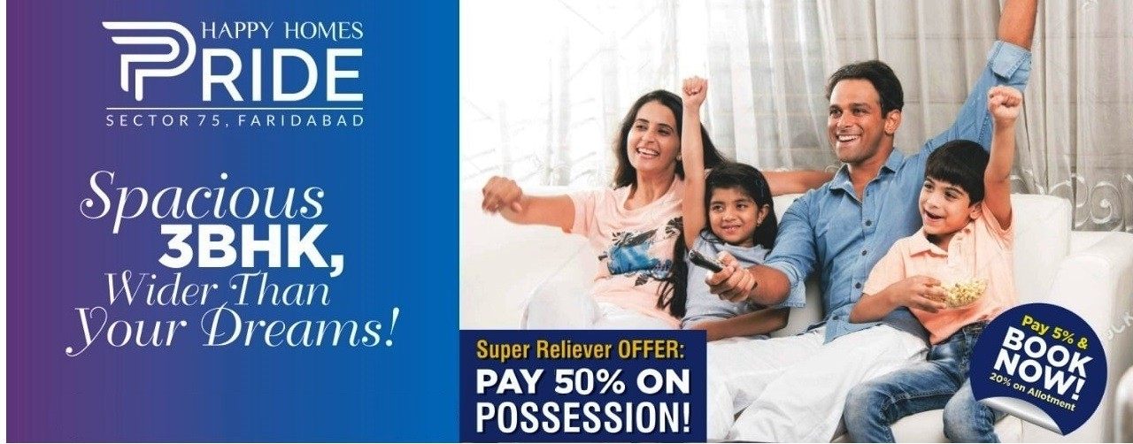 Adore Happy Homes Pride Sector 75 Faridabad